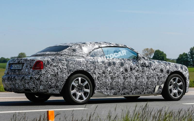 New Rolls-Royce Wraith Convertible spotted