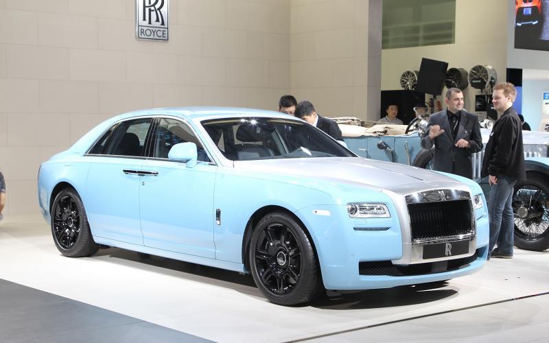 Rolls-Royce Ghost Alpine Trial Centenary: Shanghai motor show
