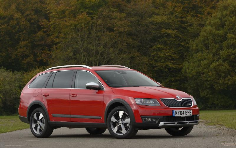 Skoda says the Scout produces 129g/km of CO2 in this form