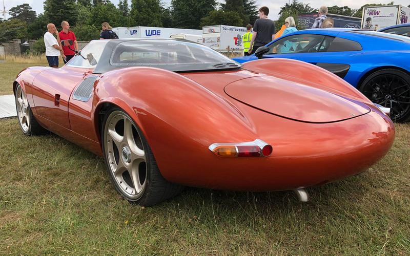 Jaguar XJ13 replica rear
