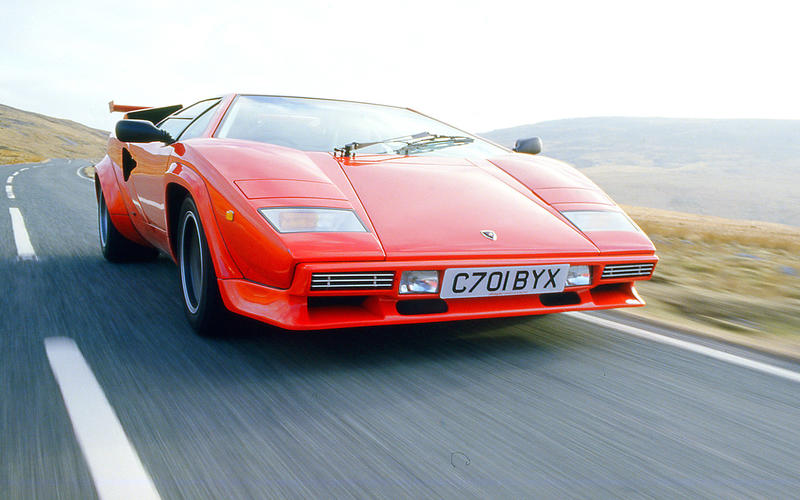 It's one of the most dramatic cars ever devised.