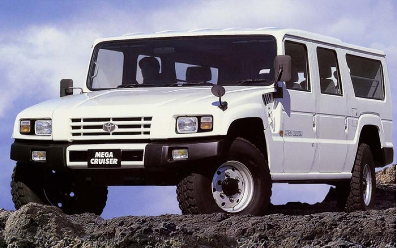 The biggest off-roader Toyota has ever built is also one of its most obscure models.