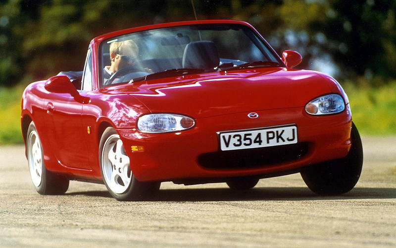 When you buy any new car it'll cost you thousands of pounds in lost value in the first couple of years.