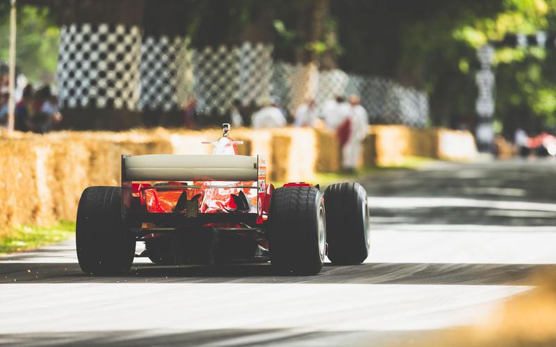 Schumacher at Ferrari
