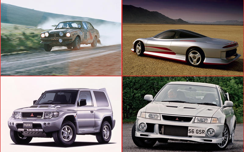 Mitsubishi may not be as high-profile as some of its Japanese rivals, but it's been around for longer than any of them and it's got a pretty colourful history too.