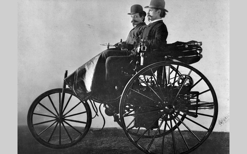 Mercedes-Benz: Patent Motorwagen (1886)