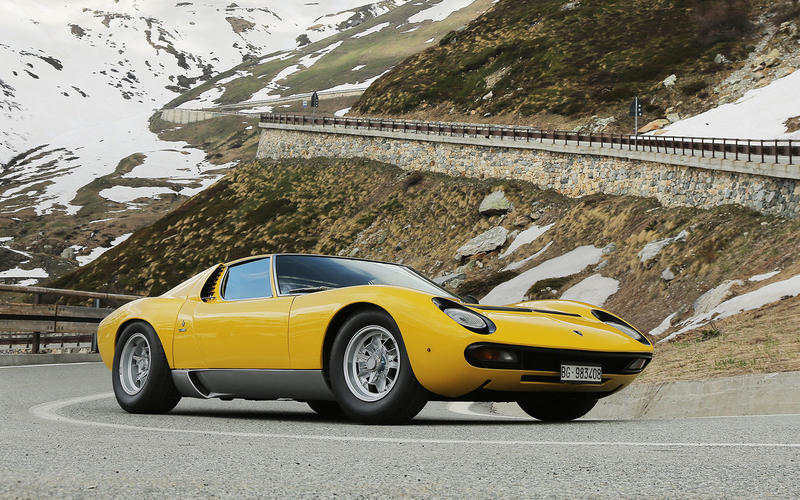 Before the Countach