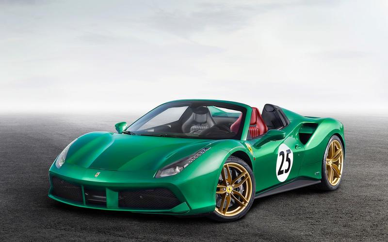 Ferrari: Historical colors