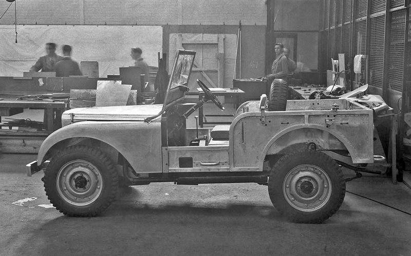 Land Rover Prototype