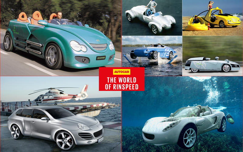The Deliciously Wacky World Of Rinspeed Autocar