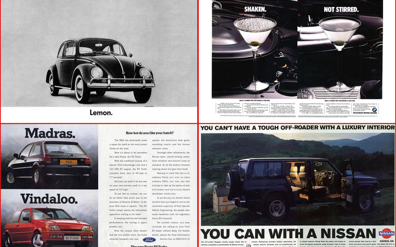 Over the years, you'll have seen thousands – probably tens of thousands – of car ads in the pages of your favourite magazines