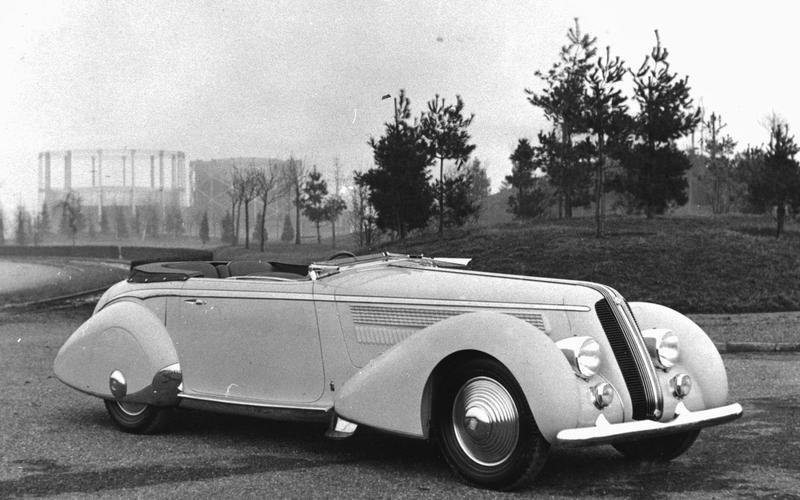 Lancia Astura: 1936