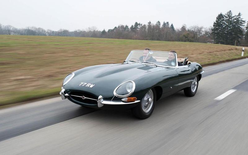 Jaguar E-type (33,992 sold in total)