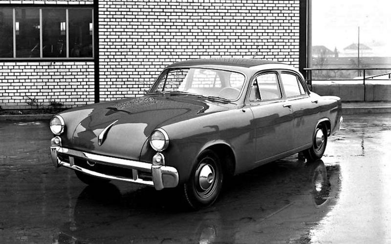 Porsche-Studebaker Type 542 (1952)
