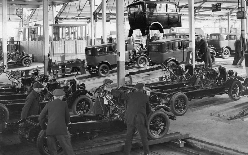 A new factory (1927)