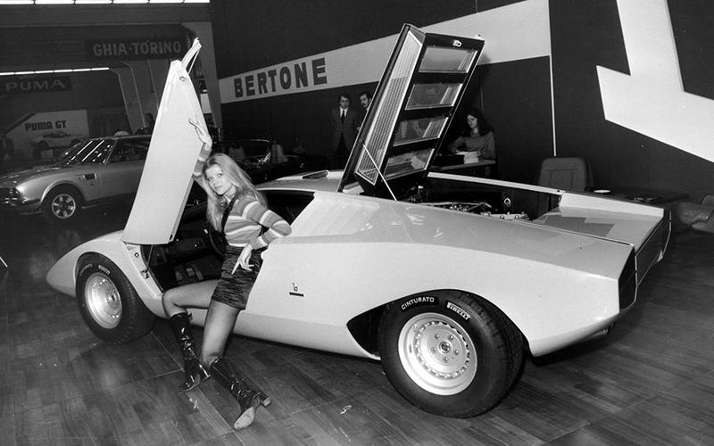 The Countach takes a bow