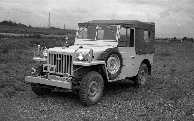 Toyota BJ/Land Cruiser (1953)