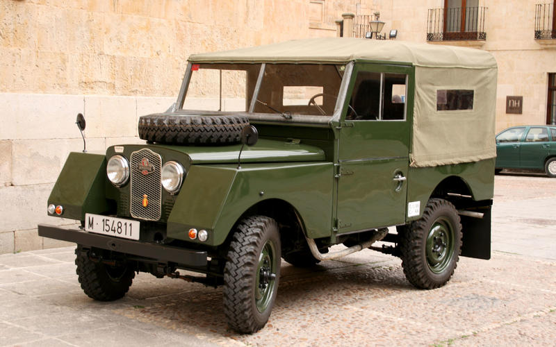 Land Rover Minerva (1954)