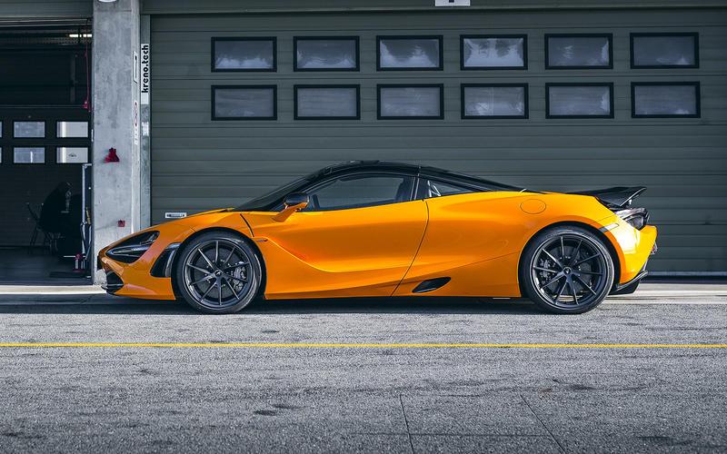 McLaren 720S: Track Pack