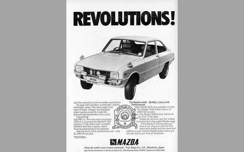Mazda R100 advert (1971)