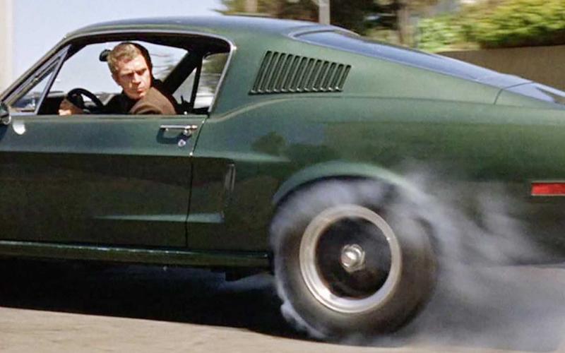 Ford Mustang (Bullitt, 1968)