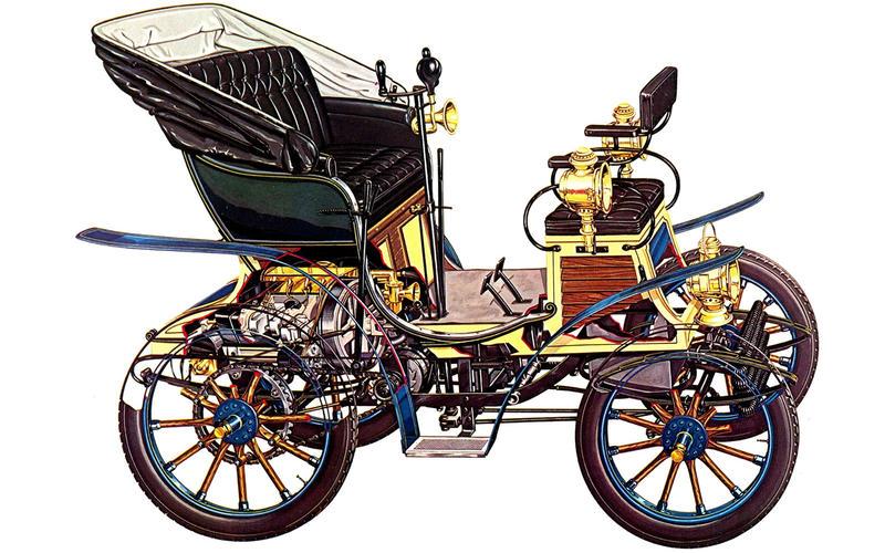 Fiat: 4HP (1899)