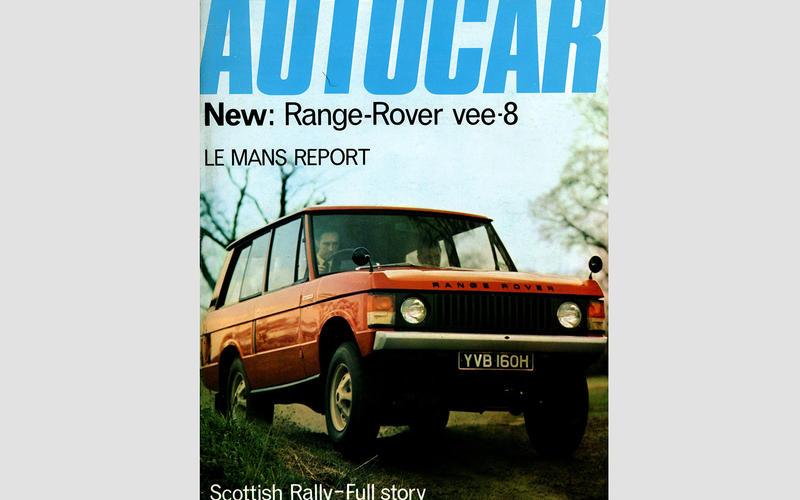 The Range Rover launches