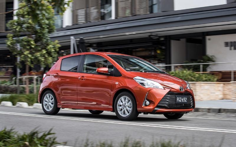 17: Toyota Yaris – 553,950