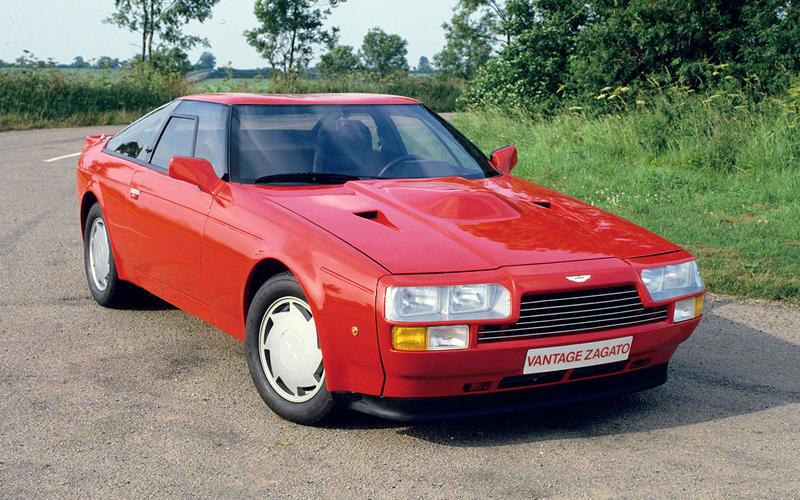 Aston Martin V8 Vantage Zagato coupé (1986)