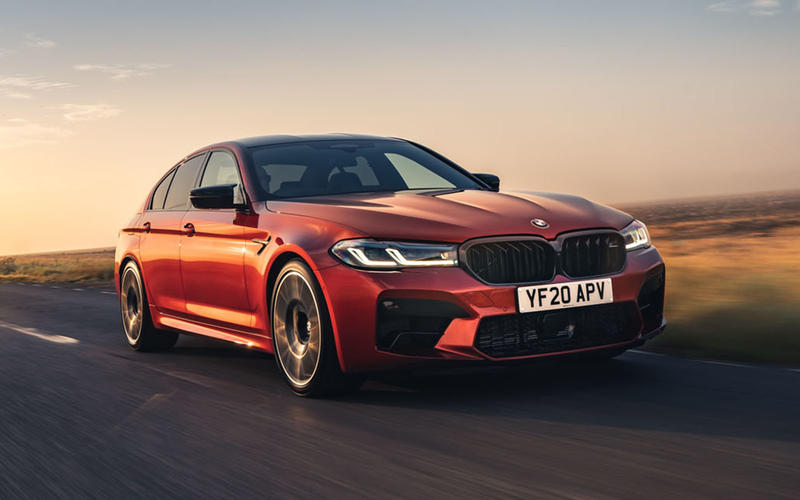 BMW: M5 Competition - 189mph
