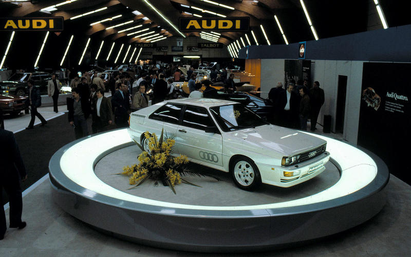 Quattro makes its debut