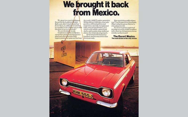 Ford Escort Mexico (1970)