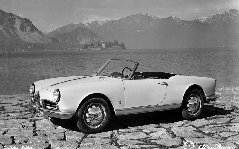 Alfa Romeo Giulietta Spider: 1955