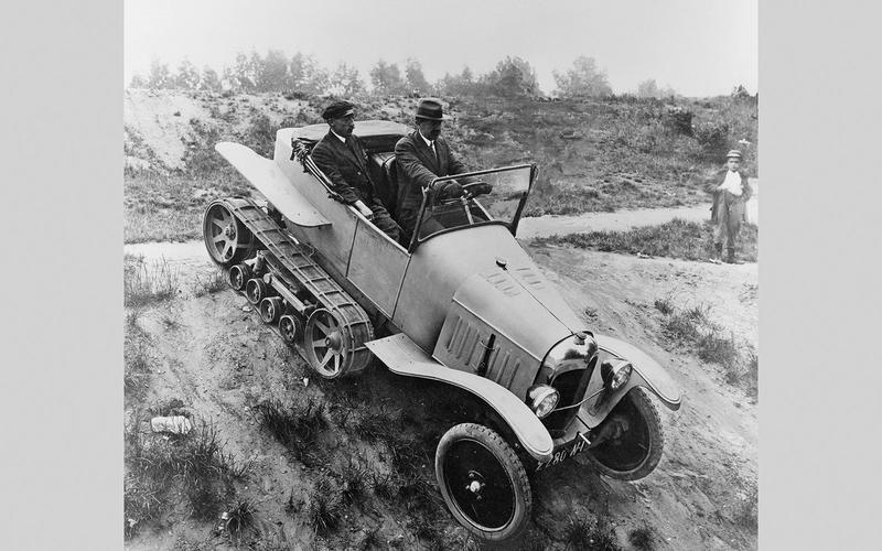 Citroën-Kegresse Autochenille (1922)