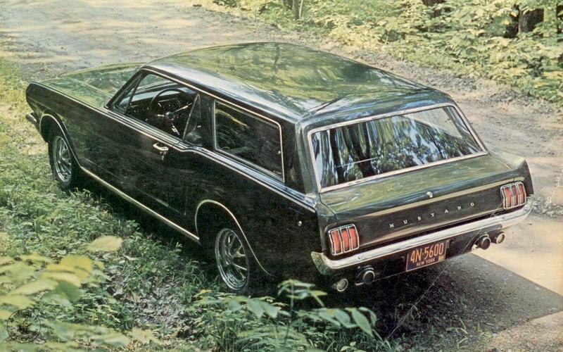 Ford Mustang shooting brake (1965)