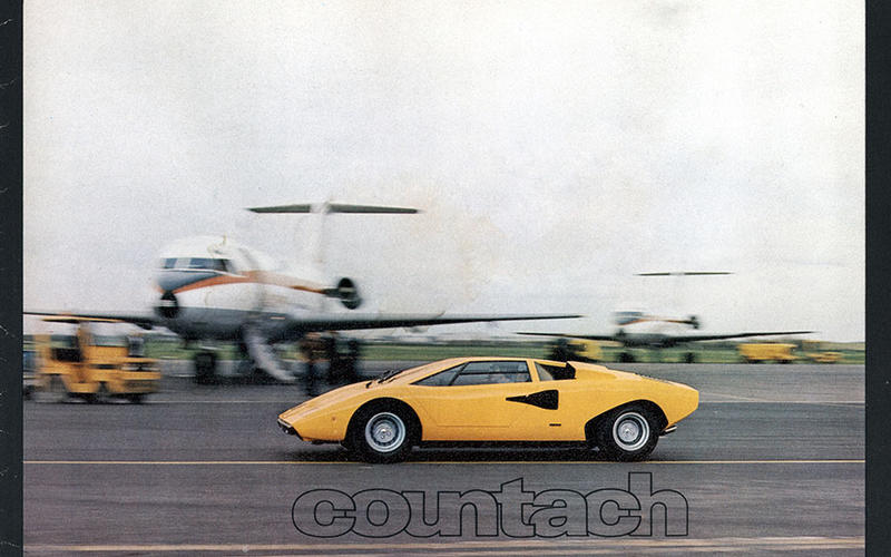 Developing the Countach