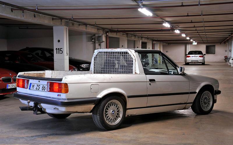 M3 E30 pick-up (1986)