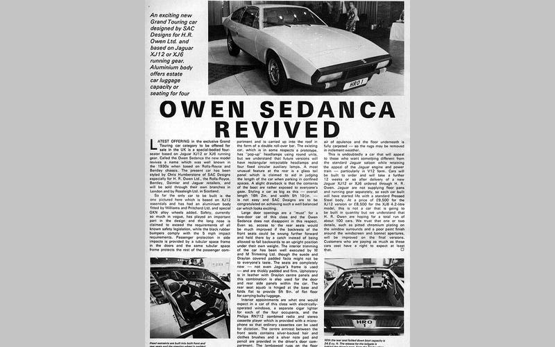 Owen Sedanca (1973)