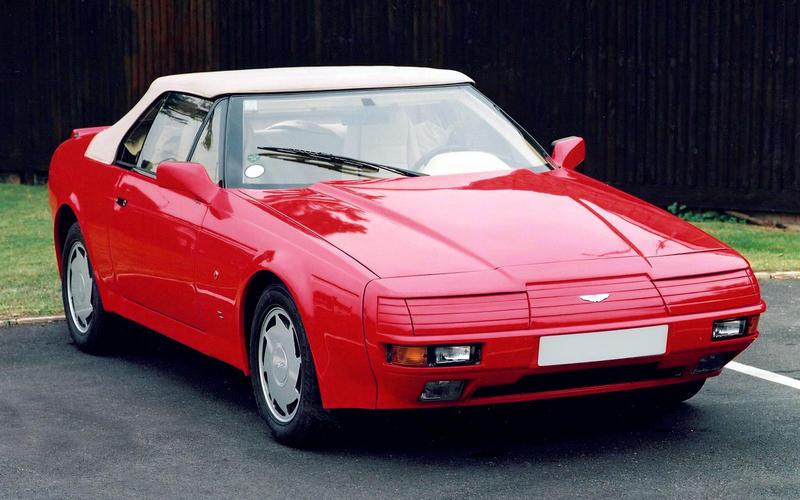 Aston Martin V8 Vantage Zagato Volante (1987)