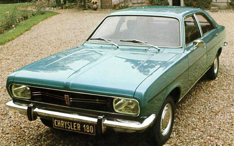 Chrysler 160, 180 & 2-litre