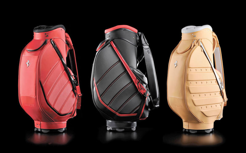 Ferrari: golf bag