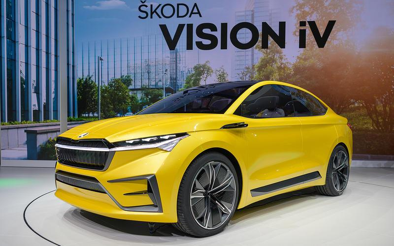 38: Skoda Vision iV