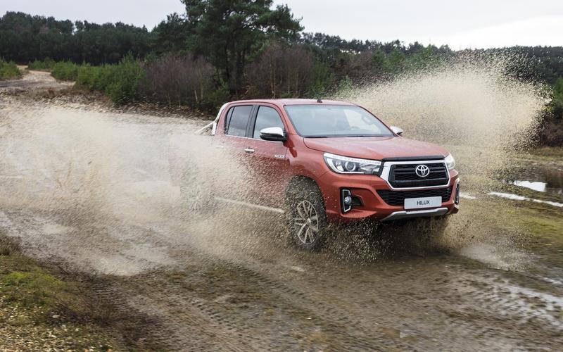 7: Thailand, Toyota Hilux – 165,452
