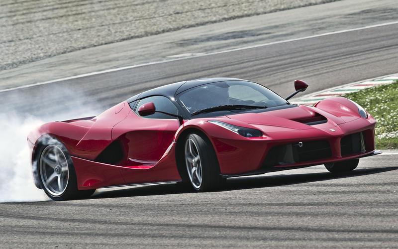 10: Ferrari LaFerrari – 756bhp/tonne