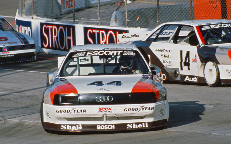 quattro goes racing