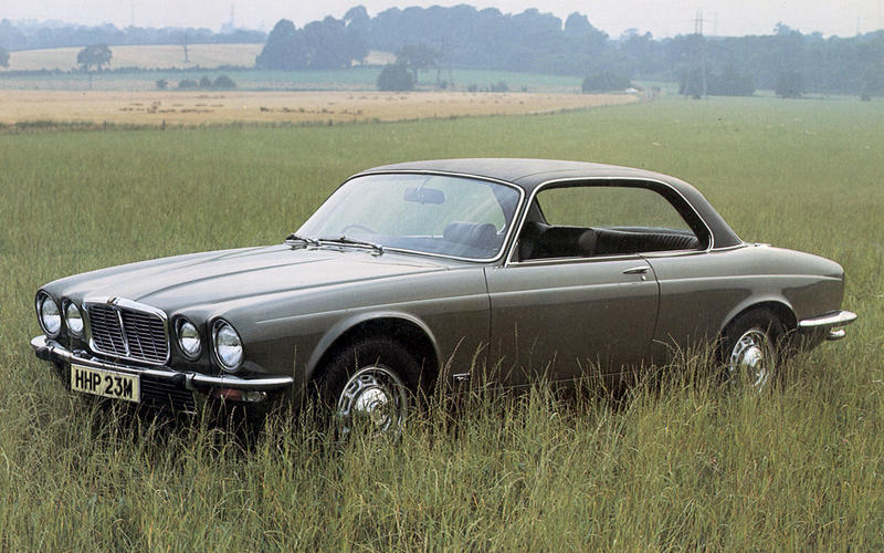 Jaguar XJ Series 2 coupé (1975)