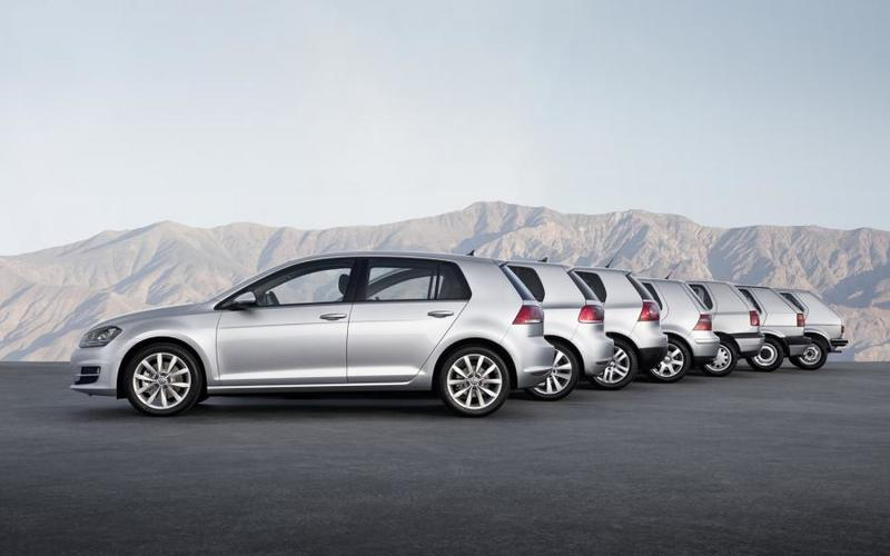 The Volkswagen Golf has become a reference point in the hatchback world.
