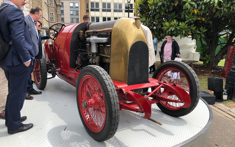 The London Concours sees a host of interesting and exotic cars come to London every year.