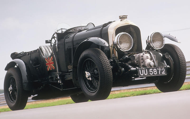 Bentley 4.5 supercharged (Casino Royale, the book, 1953)