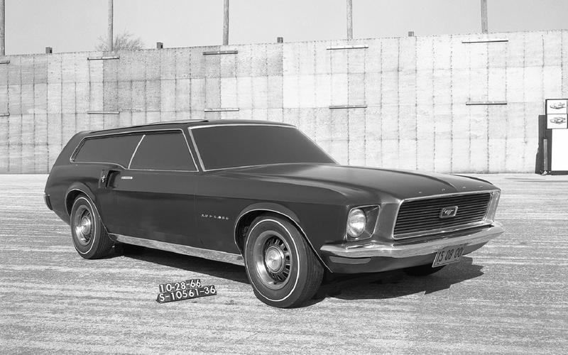 Mustang wagon (1966)